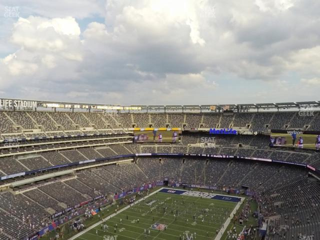 MetLife Stadium Section 347 view