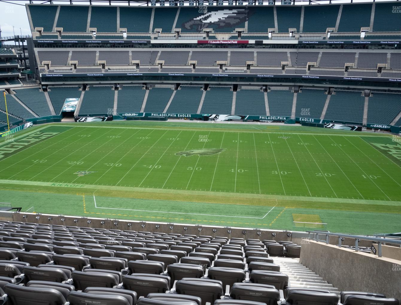 Philadelphia Eagles at Lincoln Financial Field Section C 1 View