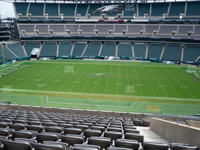 Lincoln Financial Field Section C 1 view