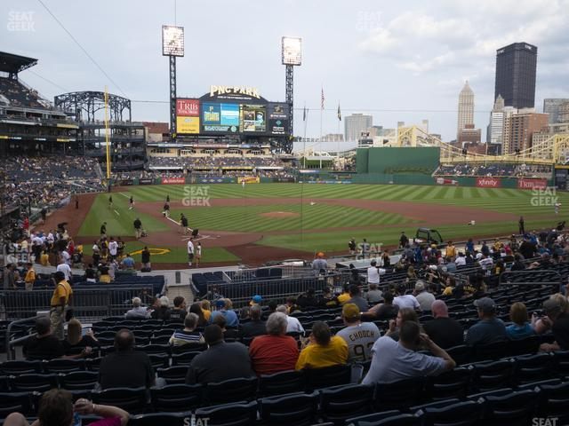 PNC Park Section 115 view