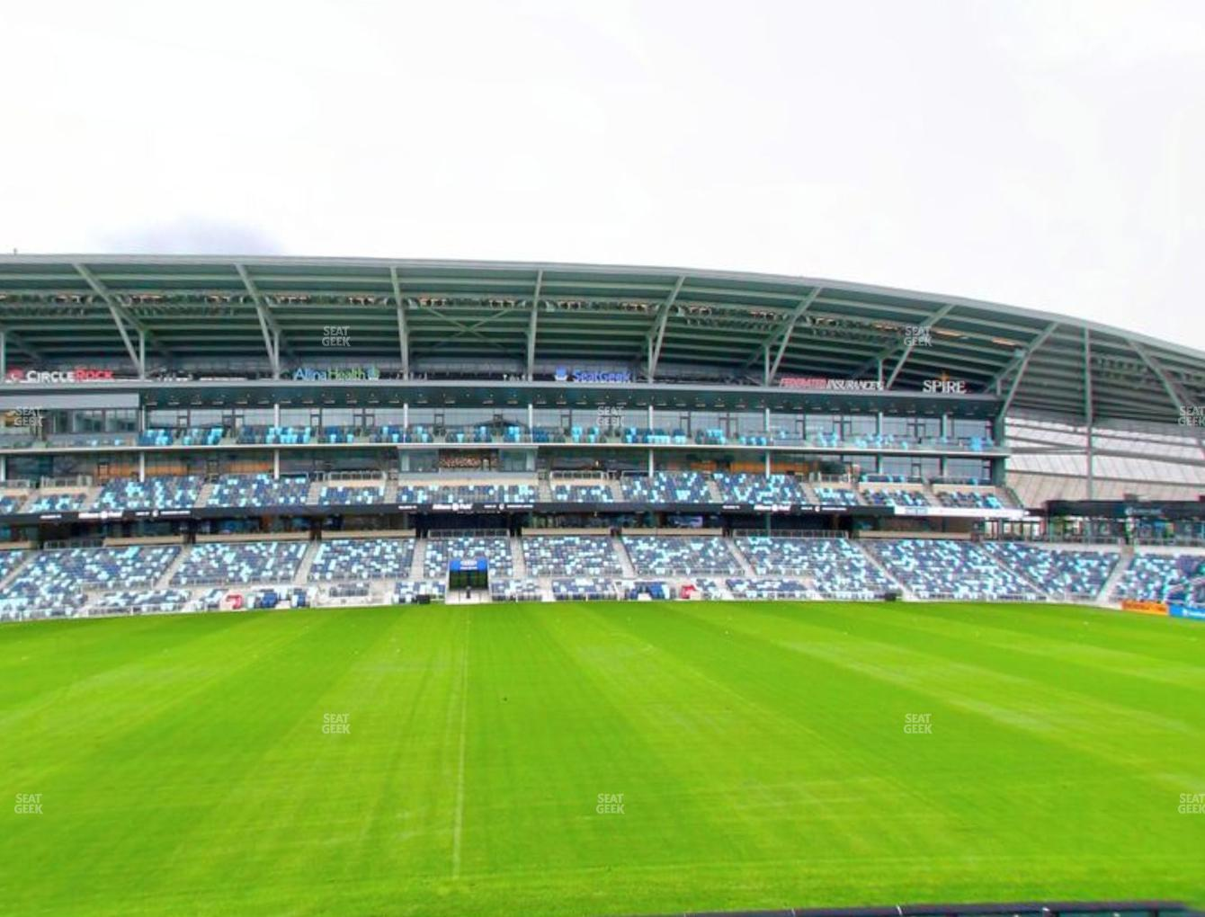 Minnesota United FC at Allianz Field Section 13 View
