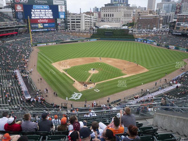 Comerica Park Section 326 view