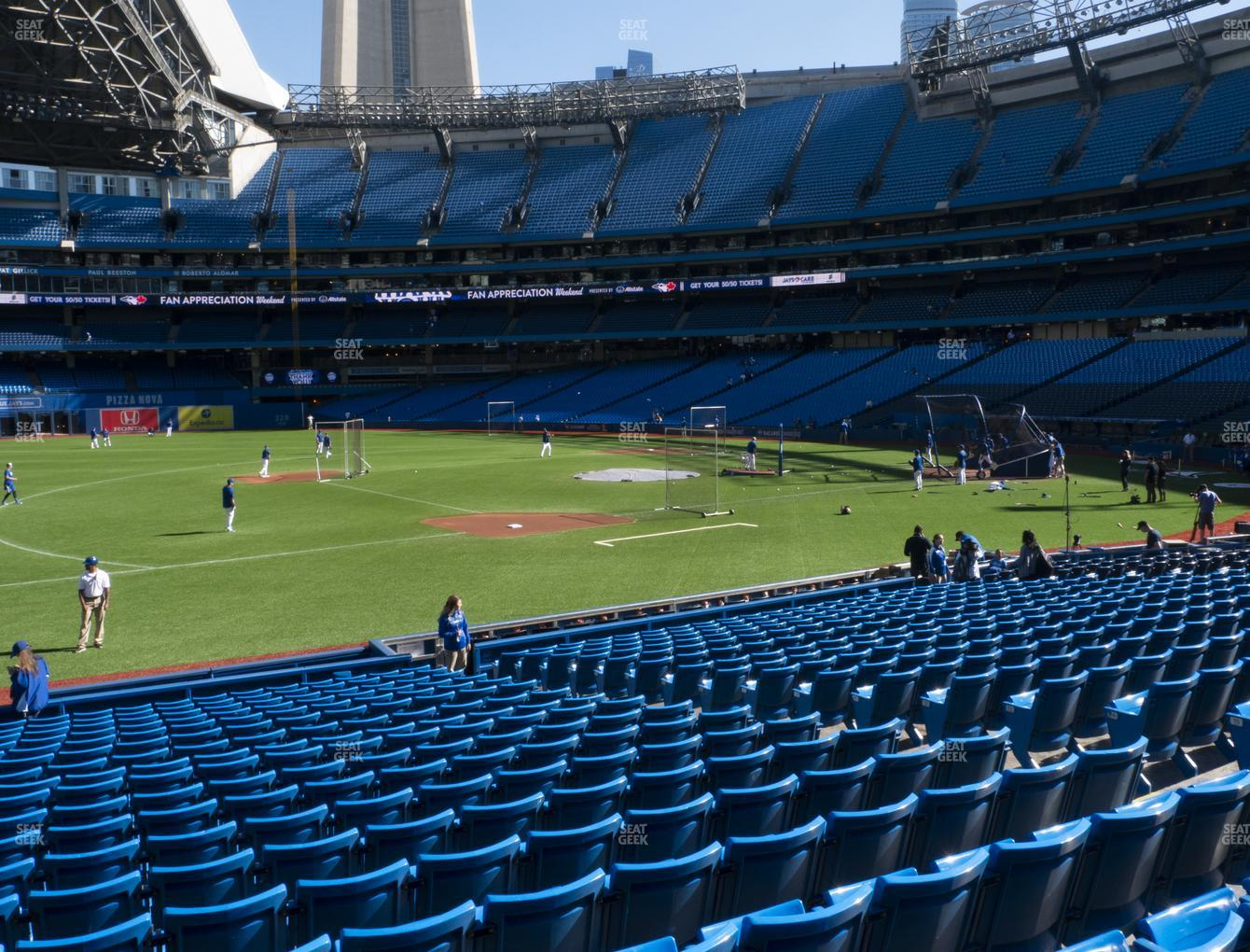Toronto Blue Jays at Rogers Centre Section 129 R View