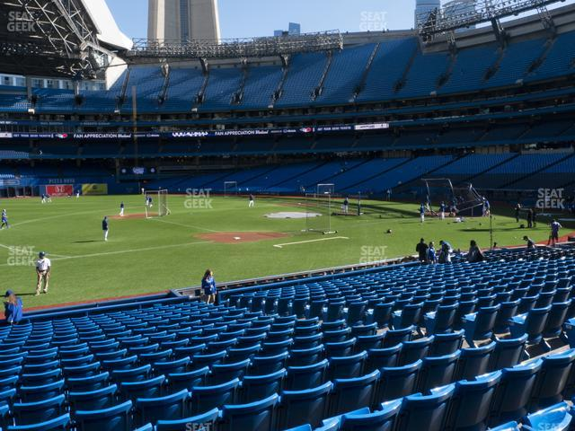 Rogers Centre Section 129 R view