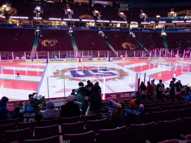 Rogers Arena Section 118 view