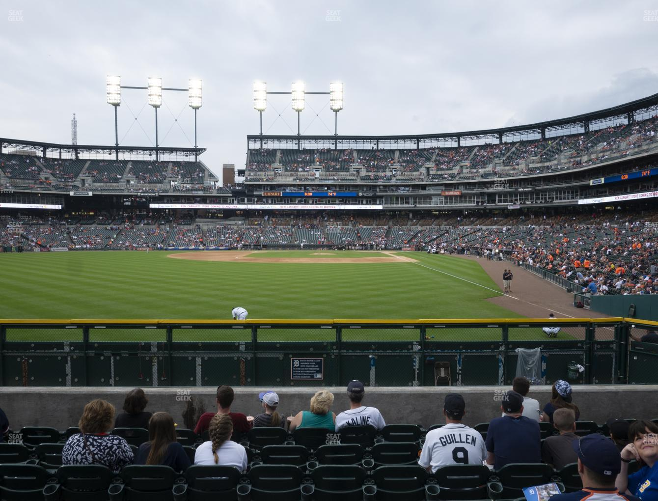 Detroit Tigers at Comerica Park Section 147 View