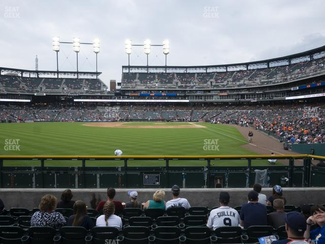 Comerica Park Section 147 view