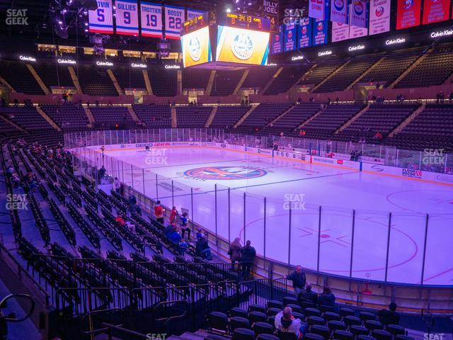Nassau Veterans Memorial Coliseum Section 127 view