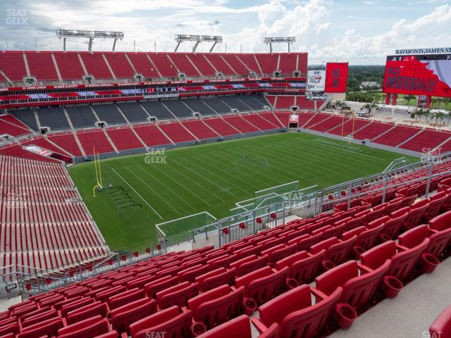 Raymond James Stadium Section 305 view