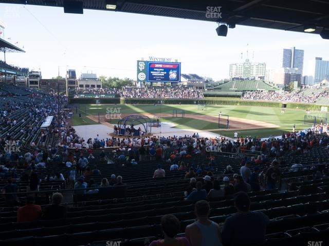 Wrigley Field Section 220 view