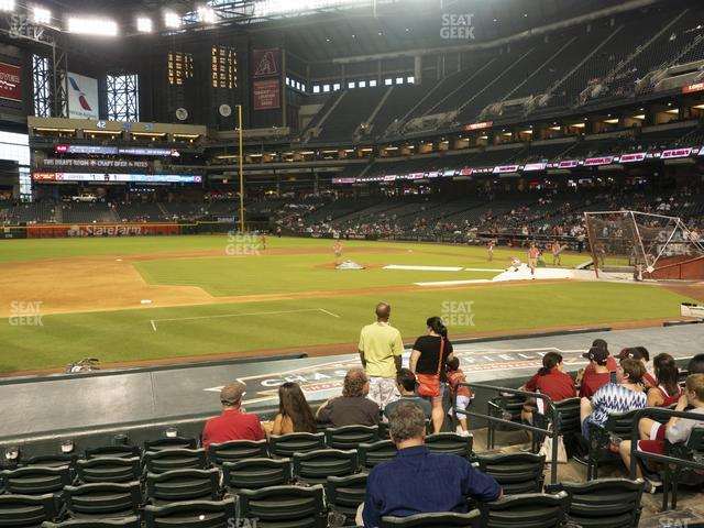Chase Field Section P view