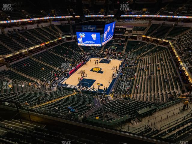 Bankers Life Fieldhouse Section 231 view