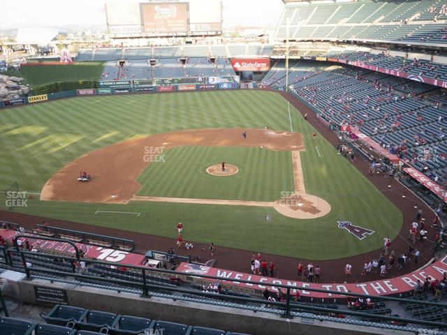 Angel Stadium of Anaheim Section 414 view