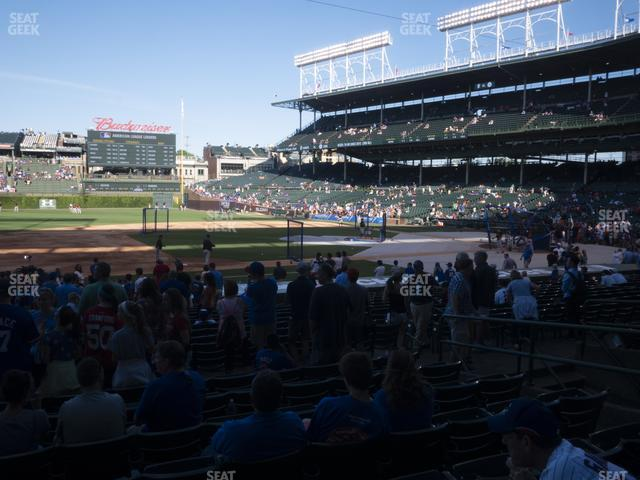 Wrigley Field Section 111 view