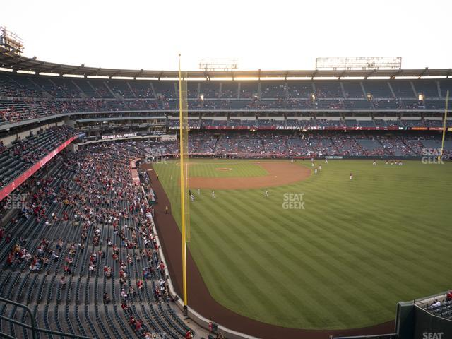 Angel Stadium of Anaheim Section 436 view