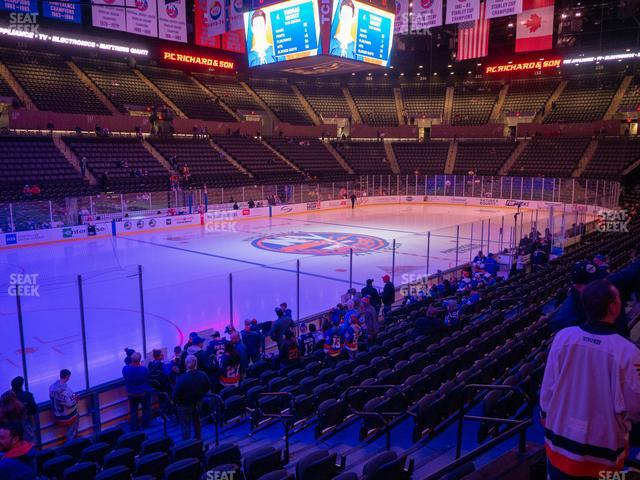 Nassau Veterans Memorial Coliseum Section 106 view