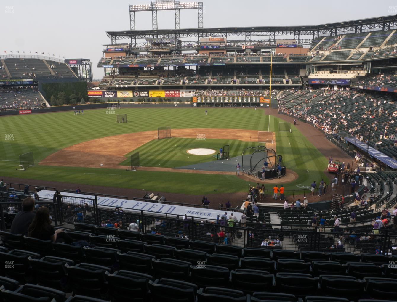 Colorado Rockies at Coors Field Section 235 View