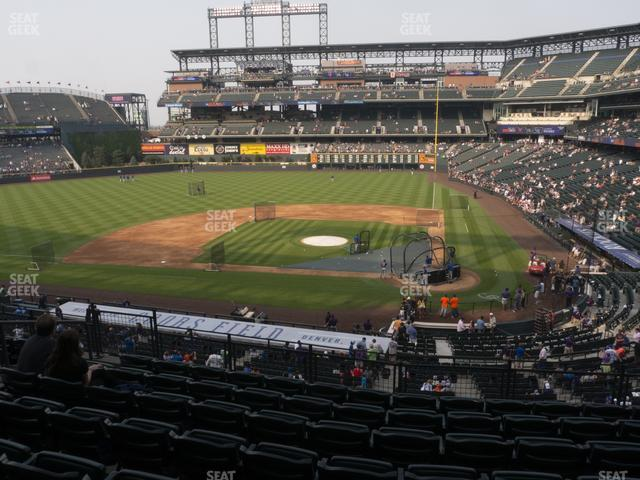 Coors Field Section 235 view