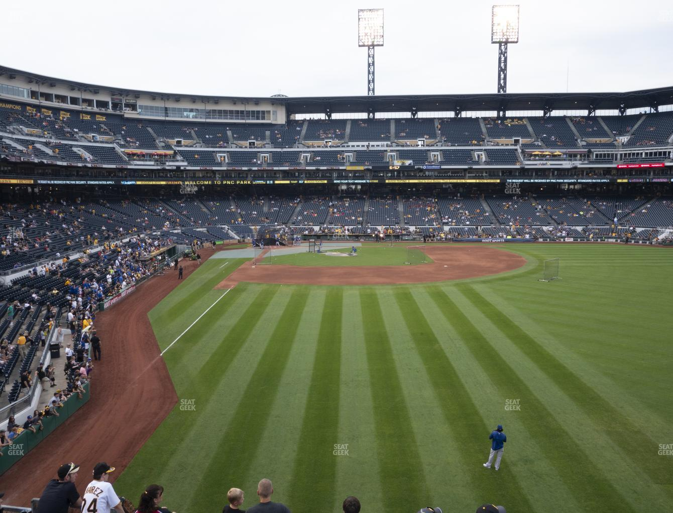 Pittsburgh Pirates at PNC Park Section 144 View
