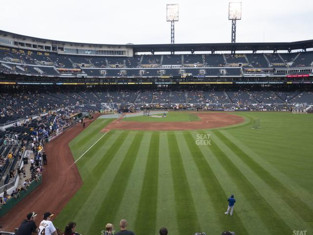 PNC Park Section 144 view