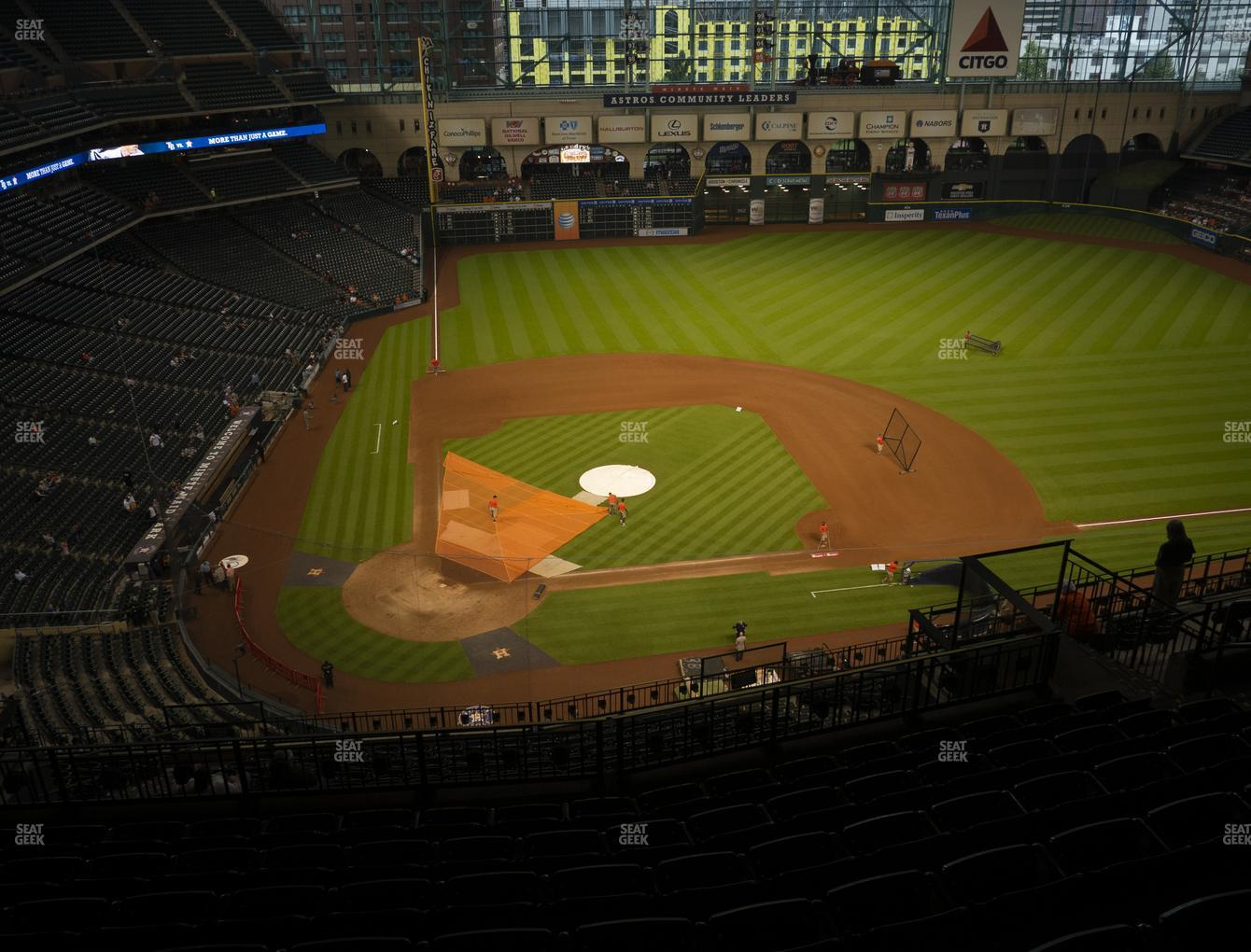 Houston Astros at Minute Maid Park Section 423 View