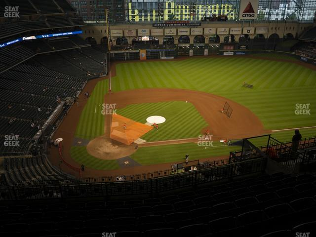Minute Maid Park Section 423 view