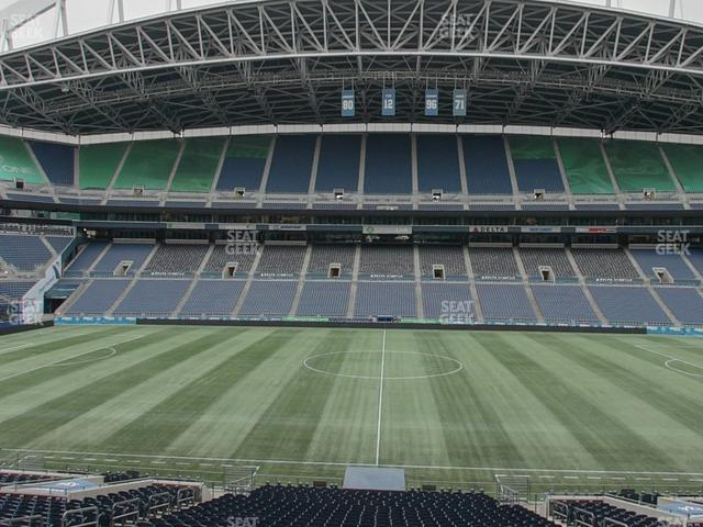 CenturyLink Field Section Club 235 view