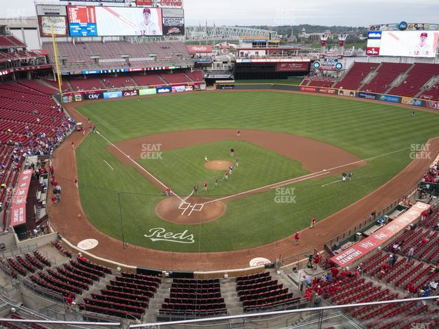 Great American Ballpark Seating Chart Rows Great American