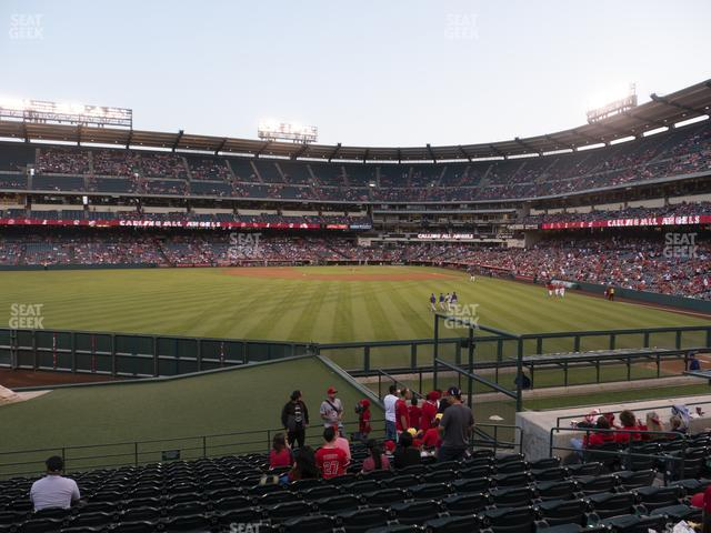 Angel Stadium of Anaheim Section 257 view