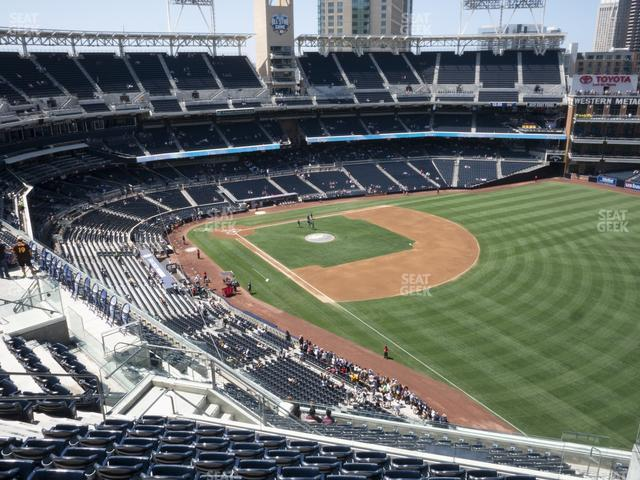 Petco Park Section 323 view