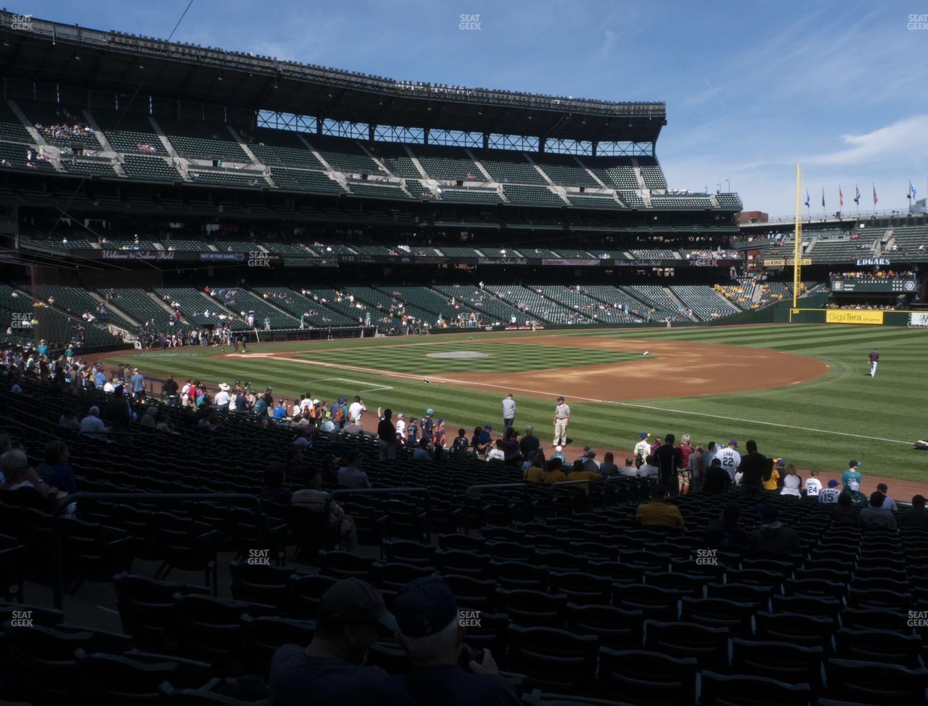 T-Mobile Park Section 117 Seat Views | SeatGeek