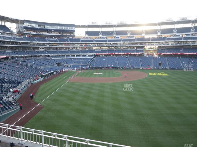 Nationals Park Section 238 view
