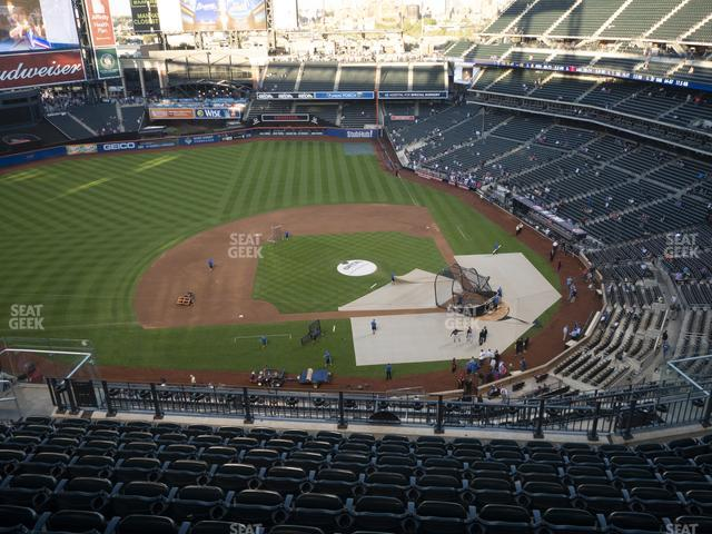 Citi Field Section 520 view
