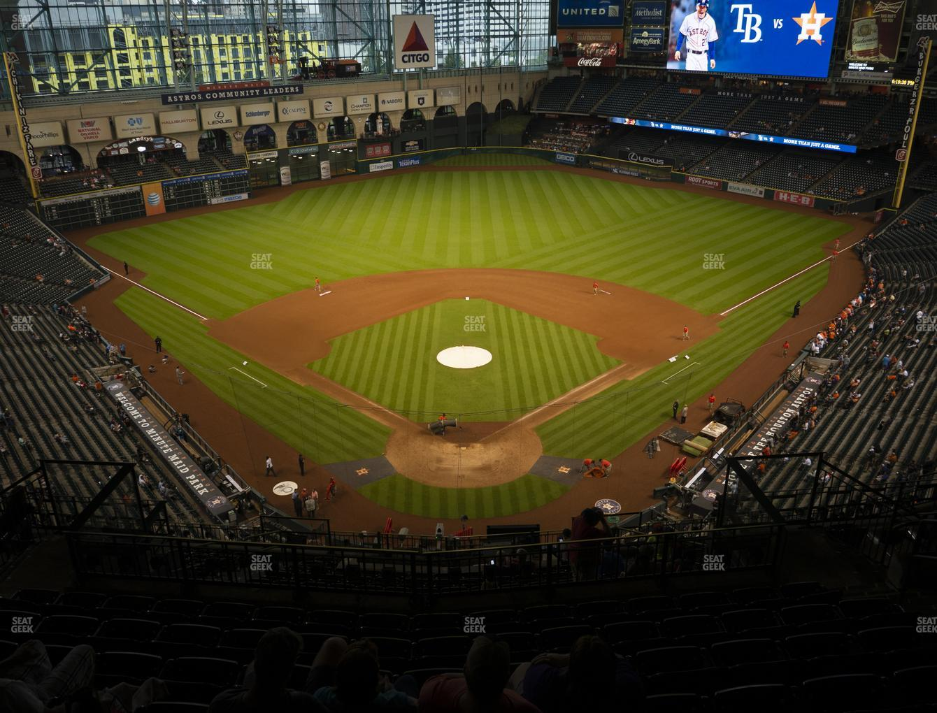 Minute Maid Park Section 419 Seat Views Seatgeek