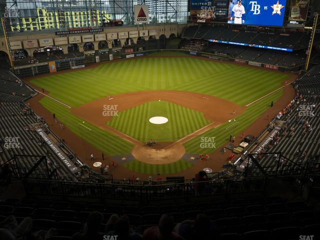 Minute Maid Park Section 419 view