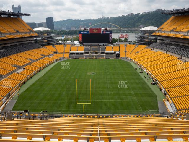 Heinz Field Section 523 view