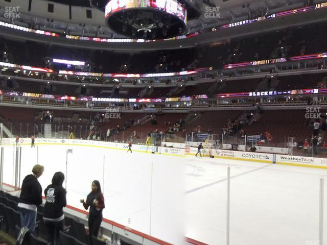 United Center Section 110 view
