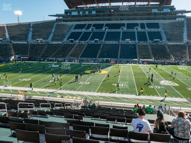 Autzen Stadium Section 10 view
