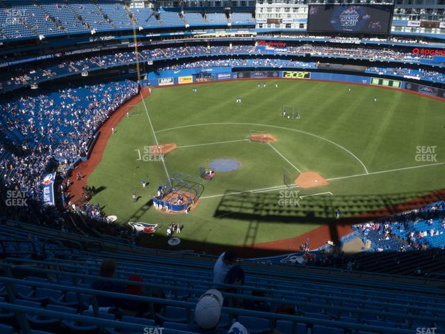 Rogers Centre Section 521 R view