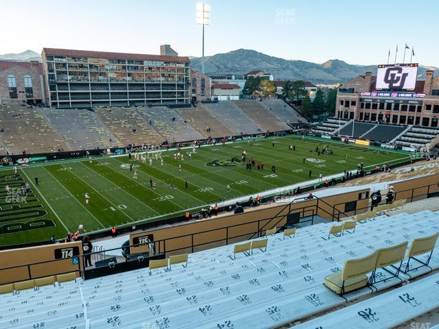 Folsom Field Section 215 view