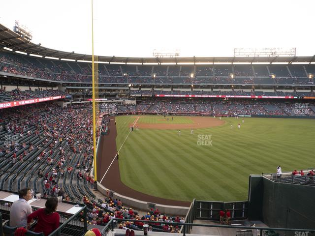 Angel Stadium of Anaheim Section 241 view