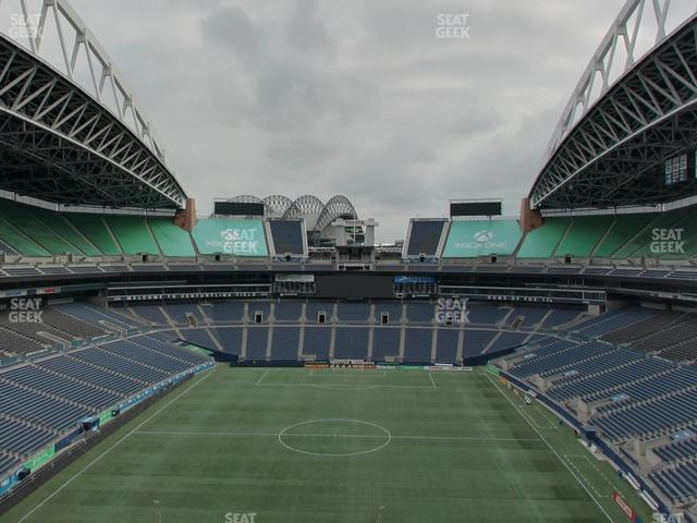 CenturyLink Field Section 147 view