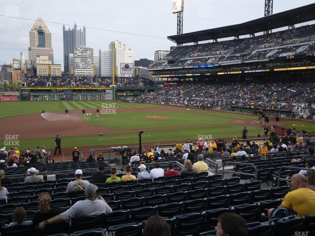 PNC Park Section 124 view