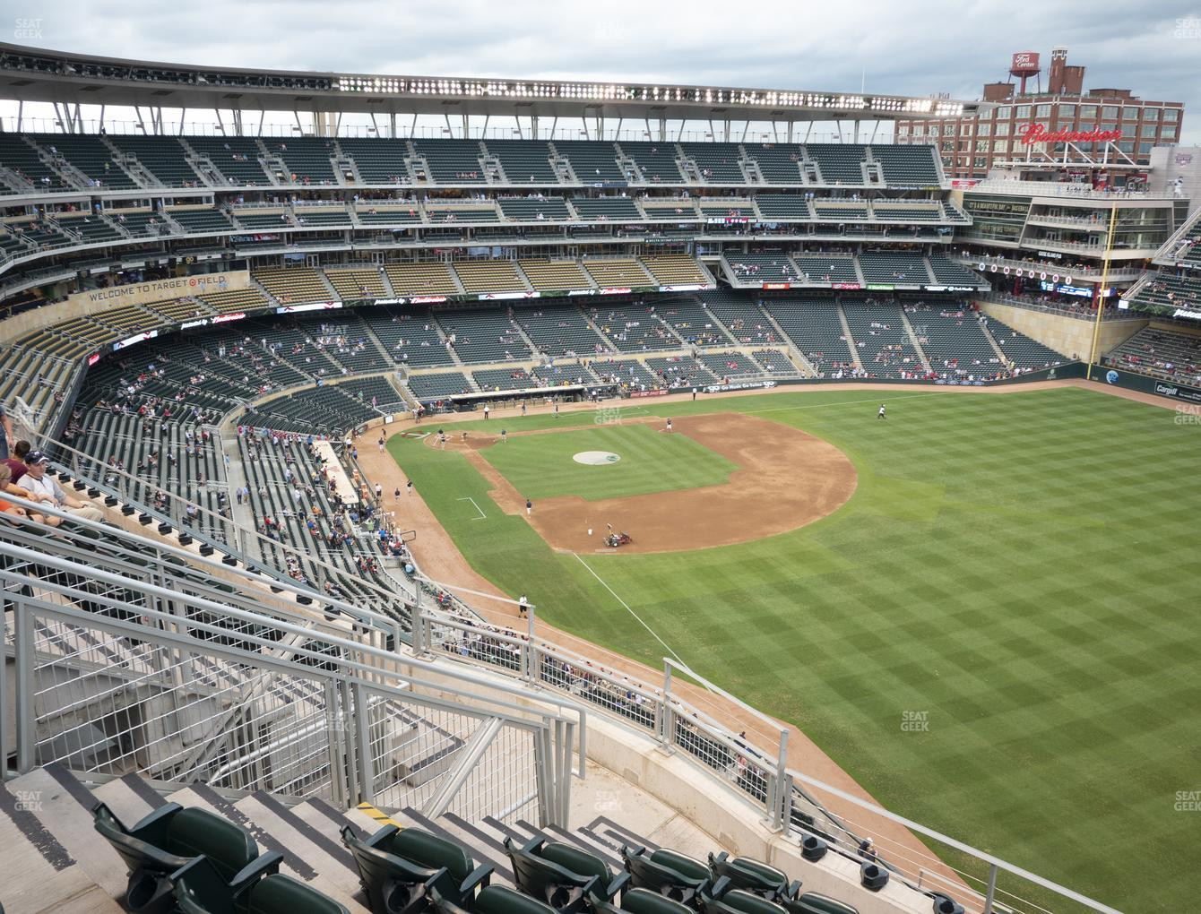 Minnesota Twins at Target Field Section 301 View