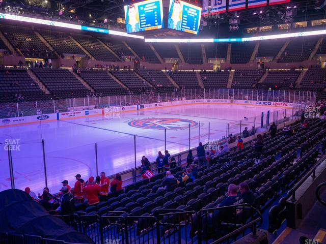 Nassau Veterans Memorial Coliseum Section 120 view