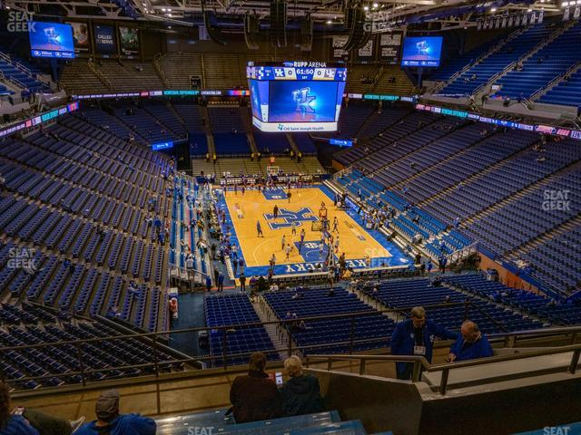 Rupp Arena Section 224 view