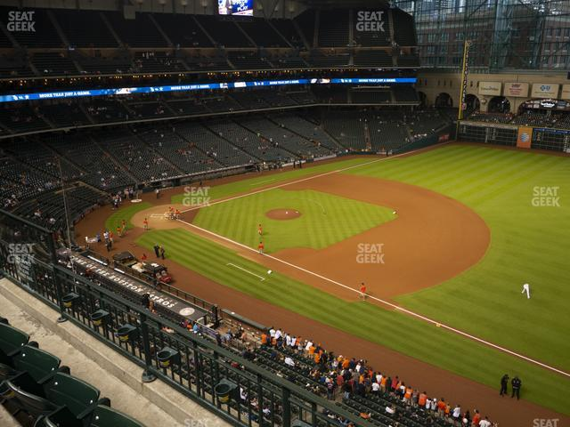 Minute Maid Park Section 329 view