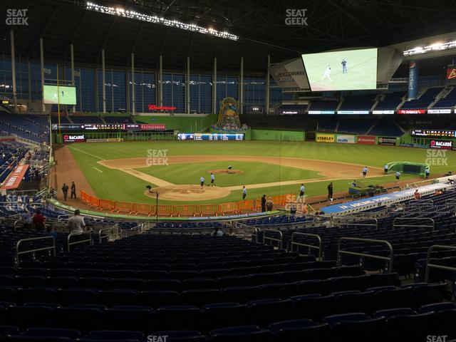 Marlins Park Section 13 view