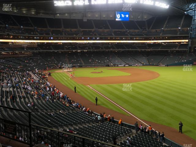 Minute Maid Park Section 234 view