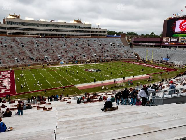 Doak Campbell Stadium Section 13 view
